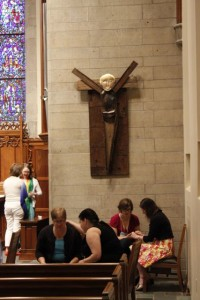 The prayer service of healing that was held in the Chapel at Westminster Presbyterian Church was a moving experience.